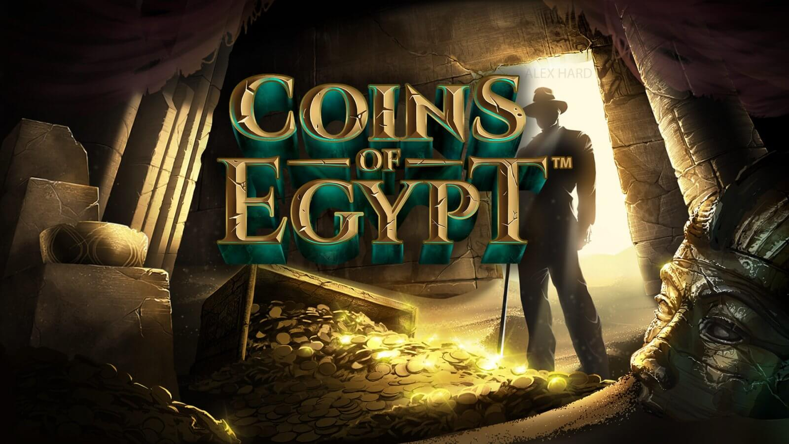 Coins of Egypt from NETENT