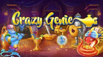 Crazy Genie (Red Tiger Gaming) Slot Review