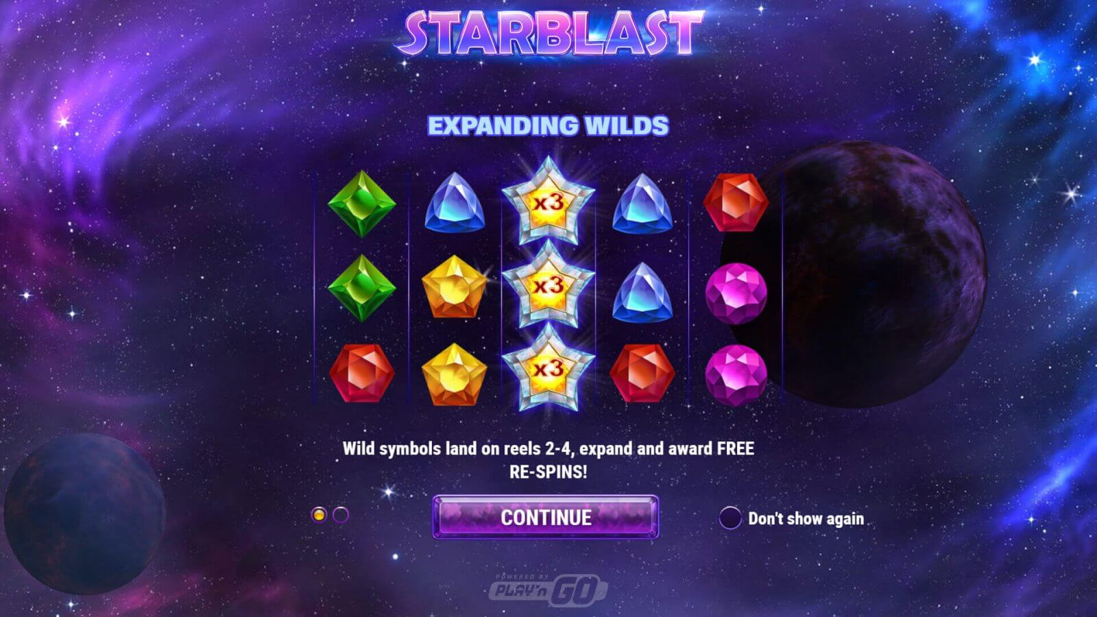 Starblast slot review