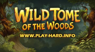 Wild Tome of the Woods by Quickspin