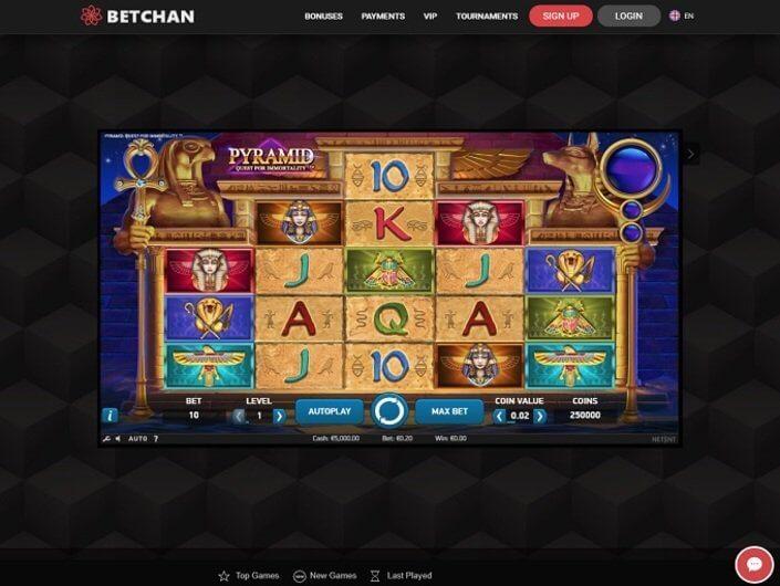 Betchain casino no deposit codes